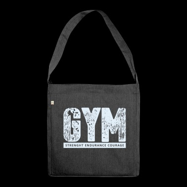 GYM - Shoulder Bag made from recycled material