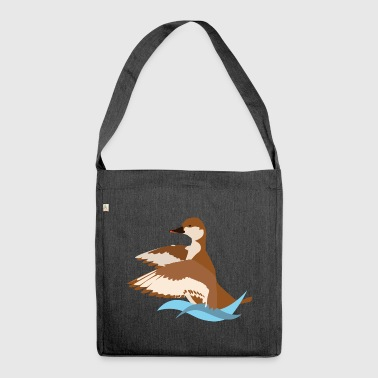 Net redhead logo - Shoulder Bag made from recycled material