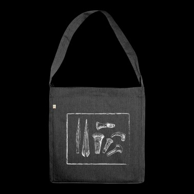 Tools - Shoulder Bag made from recycled material