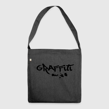 graffiti - Shoulder Bag made from recycled material