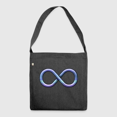 infinity sign - Shoulder Bag made from recycled material