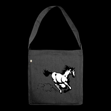 Galloping horse - Shoulder Bag made from recycled material