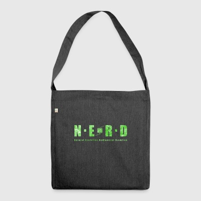 NERD Green - Shoulder Bag made from recycled material