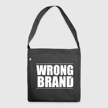 Wrong Brand: the ultimate brand parody - Shoulder Bag made from recycled material