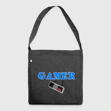 RETRO GAMING - Shoulder Bag made from recycled material