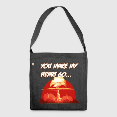 love 2 - Shoulder Bag made from recycled material
