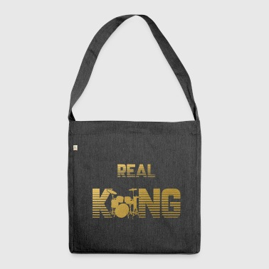 Real King - Drummer Instrument - Schoudertas van gerecycled materiaal