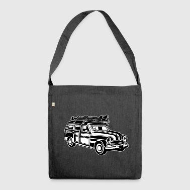 Chevy Cadilac Woodie / Vintage Kombi 01_sw - Borsa in materiale riciclato