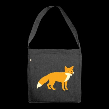A sweet fox - Shoulder Bag made from recycled material