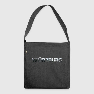 Würzburg my city of favorite region - Shoulder Bag made from recycled material