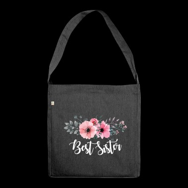 Best Sister. Gifts for sister. Little Sister Gifts - Shoulder Bag made from recycled material
