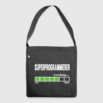 loading Super Programmer - program - Shoulder Bag made from recycled material