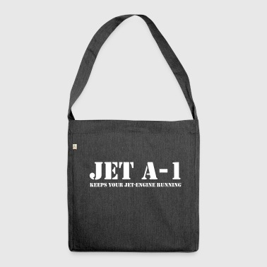 Jet A-1 JET - Shoulder Bag made from recycled material