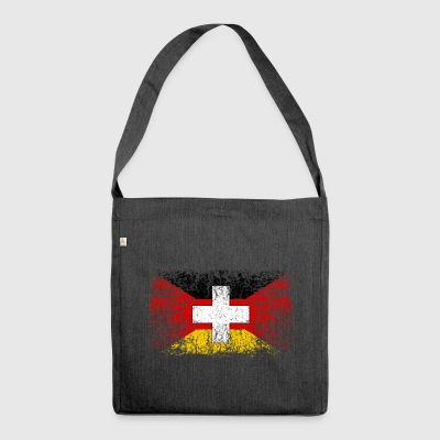 Germany Switzerland 001 - Shoulder Bag made from recycled material
