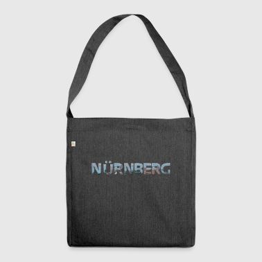 Nuremberg my city of favorite region - Shoulder Bag made from recycled material