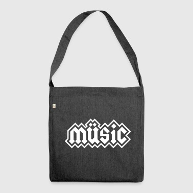Heavy Metal Music - Shoulder Bag made from recycled material