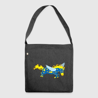 Pegasus - Schultertasche aus Recycling-Material
