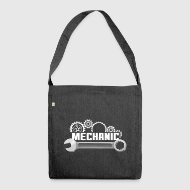 Mechanic mechanic - Shoulder Bag made from recycled material
