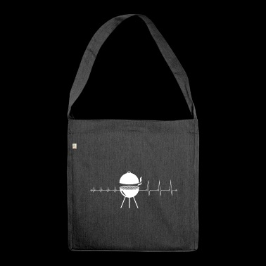 I love crickets - heartbeat crickets - Shoulder Bag made from recycled material