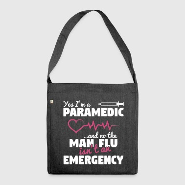 Paramedic - Man Flu Emergency - Shoulder Bag made from recycled material