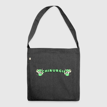 Chirurgie - Schultertasche aus Recycling-Material