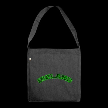 Ireland shamrock - Shoulder Bag made from recycled material