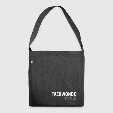TAEKWONDO - Shoulder Bag made from recycled material