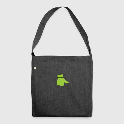 green thumb ! - Shoulder Bag made from recycled material
