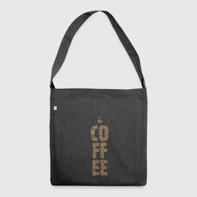 Coffee - Shoulder Bag made from recycled material