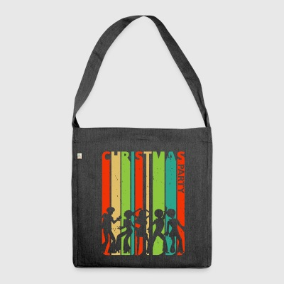 Christmas Party Dancing.Dabbing.Black Lives Matter - Shoulder Bag made from recycled material