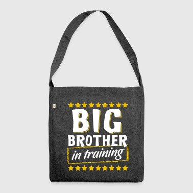 Big Brother In Training, Big Brother In Training - Shoulder Bag made from recycled material