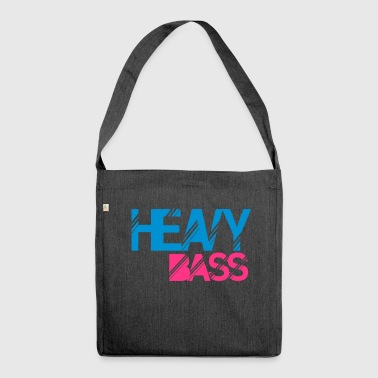 heavy bass - Shoulder Bag made from recycled material