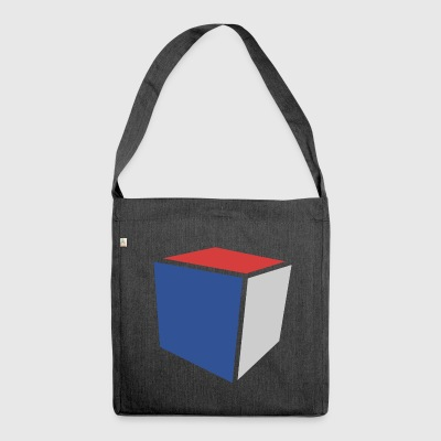 Cube Minimalist - Shoulder Bag made from recycled material