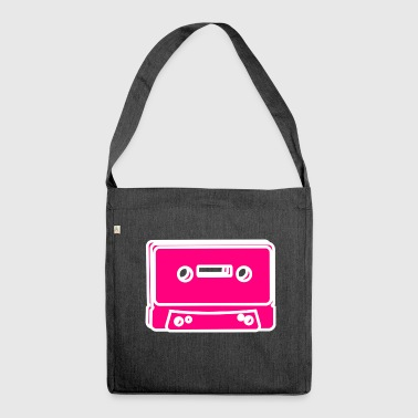 Tape cassette - Shoulder Bag made from recycled material