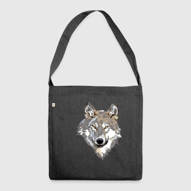 The wolf - Shoulder Bag made from recycled material
