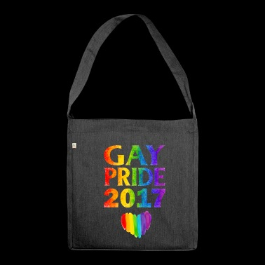 Gay pride 2017 - Schultertasche aus Recycling-Material