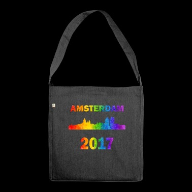 Amsterdam pride - Shoulder Bag made from recycled material