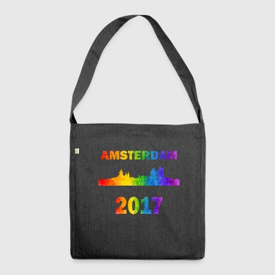 Amsterdam pride - Schultertasche aus Recycling-Material