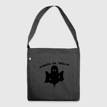 trick or treat Trick or Treat Halloween - Shoulder Bag made from recycled material