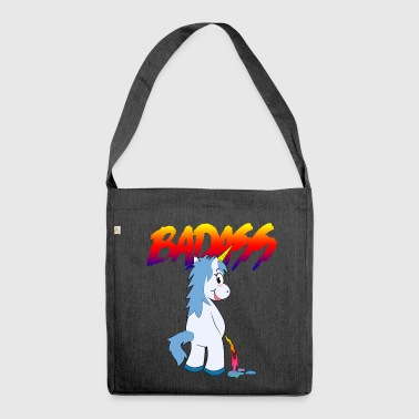 badass2 - Borsa in materiale riciclato