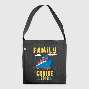 Family Cruise 2018 - Shoulder Bag made from recycled material