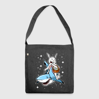 Galactic Easter! - Shoulder Bag made from recycled material