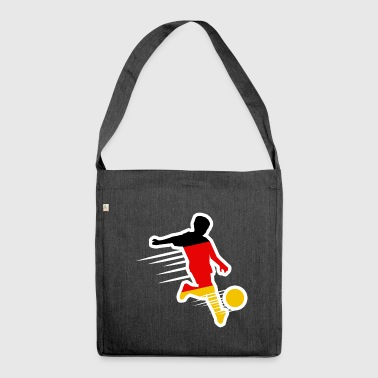Footballer - Germany Shirt - Shoulder Bag made from recycled material