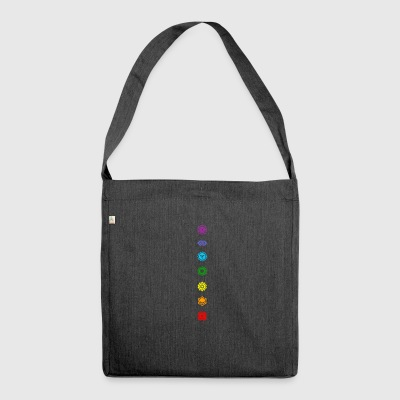 Chakra - Shoulder Bag made from recycled material