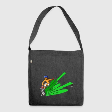 skate_green - Shoulder Bag made from recycled material