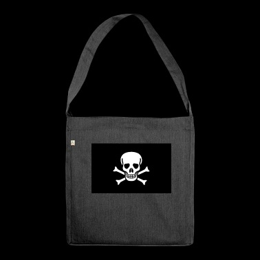 The Skull & Crossbones! - Shoulder Bag made from recycled material