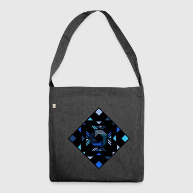 Abstract - Shoulder Bag made from recycled material