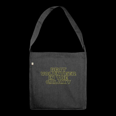 Best Volunteer in the Galaxy - Shoulder Bag made from recycled material