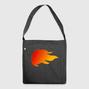 Flames Fire - Shoulder Bag made from recycled material