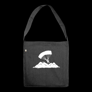 Paragliding Paragliding Paraglider hobby - Shoulder Bag made from recycled material